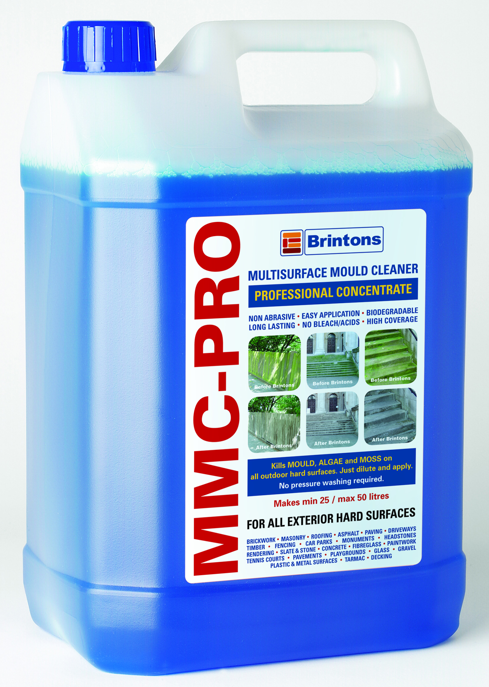 MMC Pro 5lt Hard Surface Cleaner