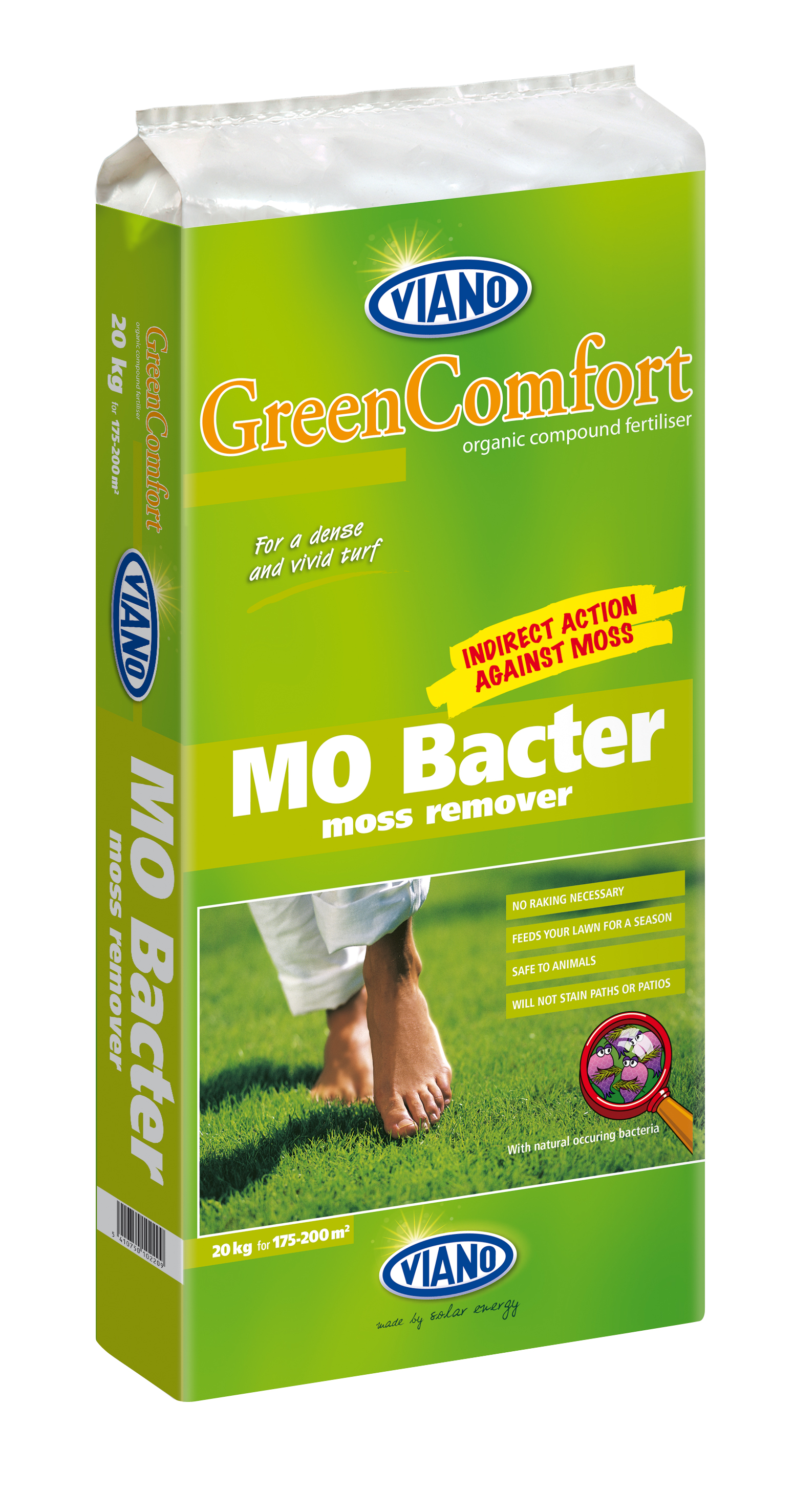 MO BACTER 10KG         (Moss Remover)