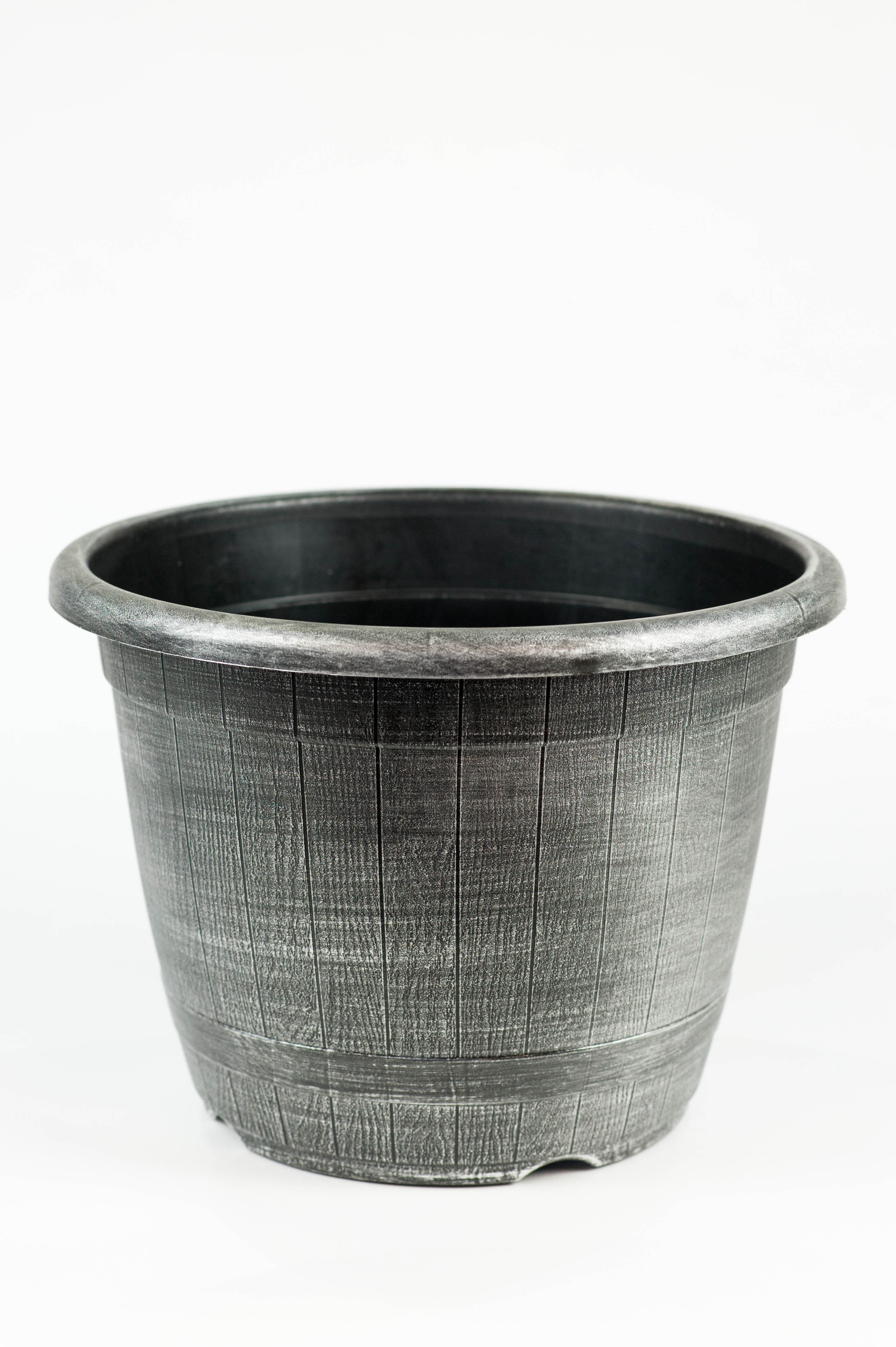 25cm Olympic Planter Silver
