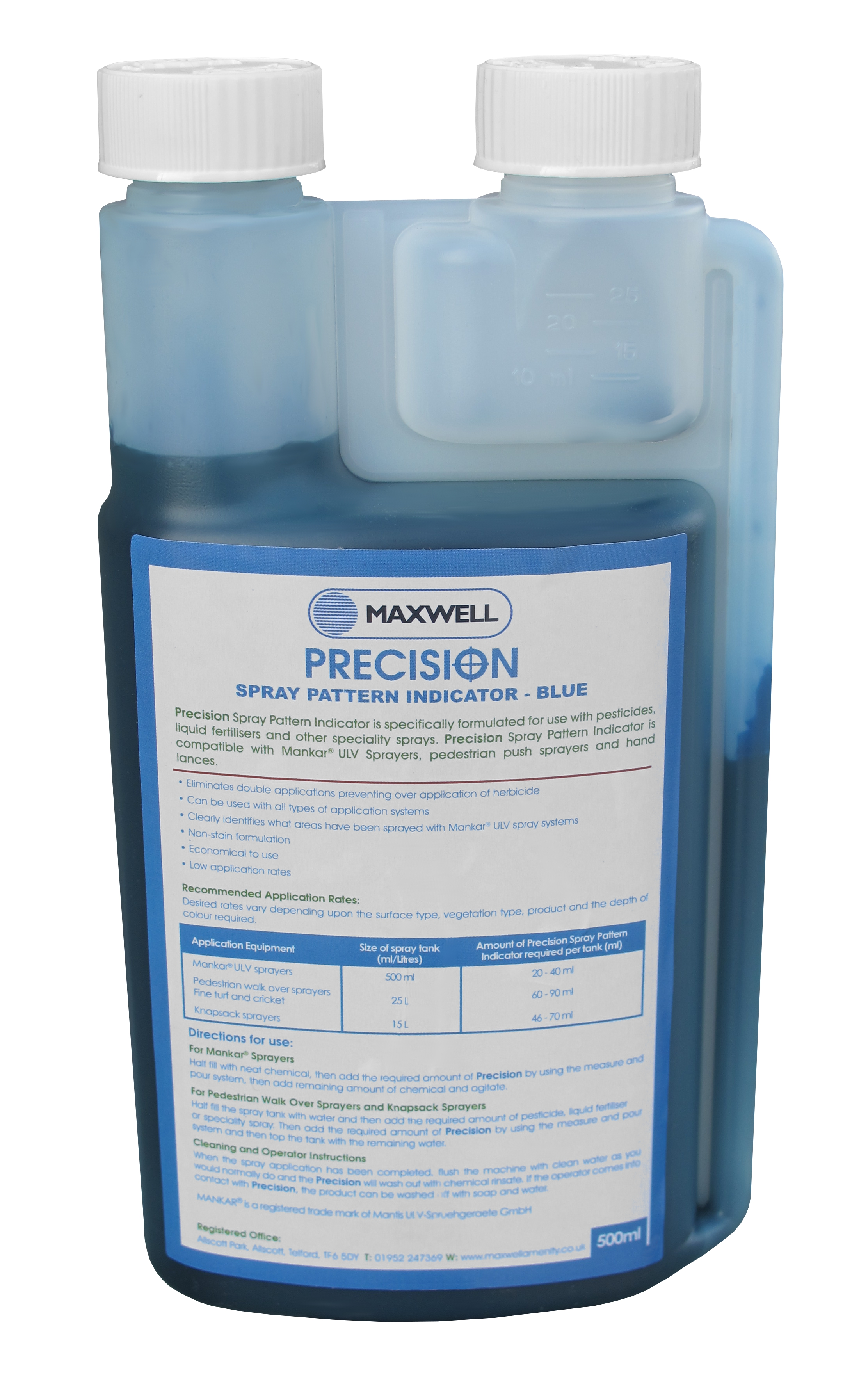 Maxwell Precision 500ml Dye